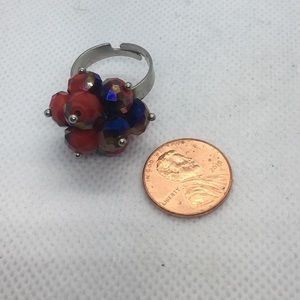 Jewelry - 4 for $12: Iridescent Beaded Ring